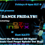 JUST F'IN DANCE FRIDAYS!!